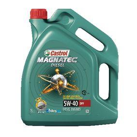 OPEL Auto oleje CASTROL (1502BA) za nízké ceny