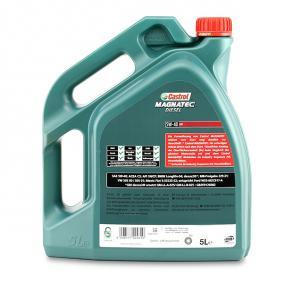 TOYOTA HILUX Pick-up CASTROL Motor oil, Art. Nr.: 1502BA