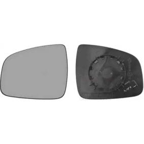 Spiegelglas, Außenspiegel VAN WEZEL Art.No - 1507837 OEM: 963661279R für RENAULT, DACIA kaufen