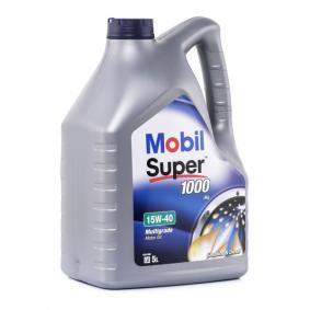 MOBIL Olio per motore 15W40 (150867) ad un prezzo basso