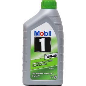 двигателно масло 0W-40 (151500) от MOBIL купете онлайн