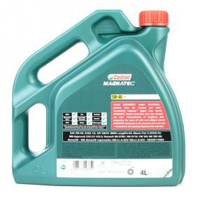 OPEL Oleje silnikowe ze CASTROL 151B38 OEM jakości