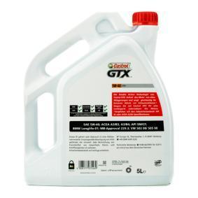 ACEA A3 CASTROL Olie voor auto , Art. Nr.: 15218F
