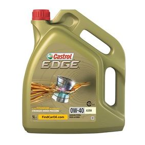 MG MGF Auto oil CASTROL (15337F) at favorable price