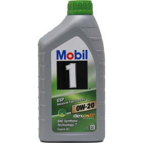 двигателно масло 0W-20 (153437) от MOBIL купете онлайн