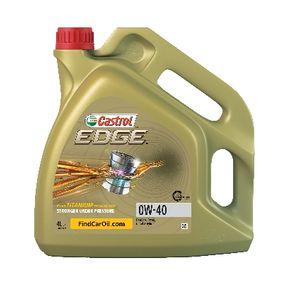 SAE-0W-40 Двигателно масло от CASTROL 1534A7 оригинално качество