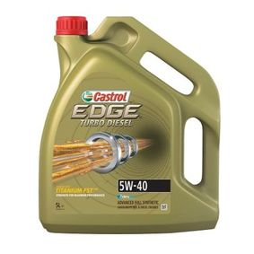 SAE-5W-40 Car oil from CASTROL 1535BD original quality