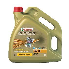 DACIA Auton moottoriöljy CASTROL (1535F3) edulliseen hintaan