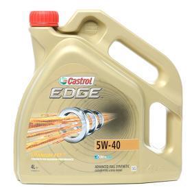 OPEL Oleje silnikowe ze CASTROL 1535F3 OEM jakości