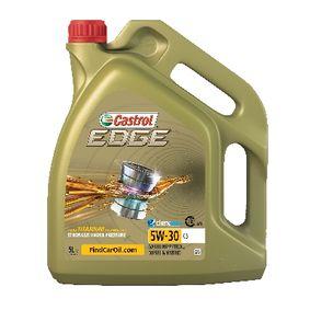 Ultramoderne CASTROL C3, EDGE TITANIUM FST Motorolie 5W-30, Inhalt: 5l OG-15