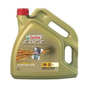 CASTROL Motorolje EDGE TITANIUM FST, LL, 5W-30, 4l 0501CA224CJ1468567 fagkunnskap