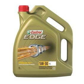 AUDI Motorový olej od CASTROL 15669B OEM kvality