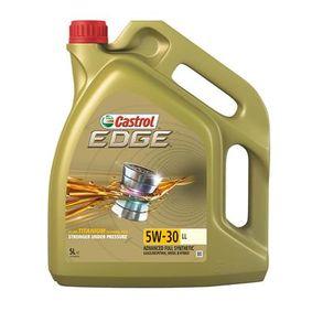 CASTROL LL, EDGE TITANIUM FST Engine Oil 5W-30, Capacity: 5l, Full  Synthetic Oil (15669B) buy cheap online