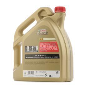 AUDI Motorový olej od CASTROL 15669E OEM kvality