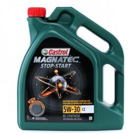 PEUGEOT Motorový olej od CASTROL 1599DC OEM kvality