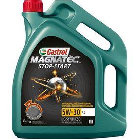 AUDI Motorový olej od CASTROL 159A5C OEM kvality