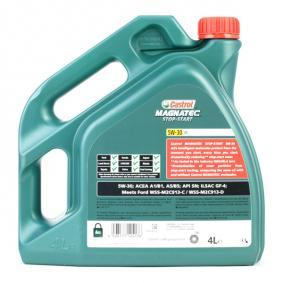 HONDA Olja till bilen tillverkarens CASTROL 159B9A i OEM kvalité