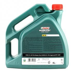 TOYOTA HILUX Pick-up CASTROL Motor oil, Art. Nr.: 159BAB