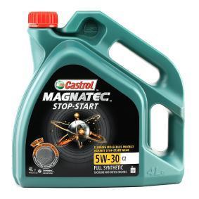 VOLVO Olja till bilen tillverkarens CASTROL 159BAB i OEM kvalité