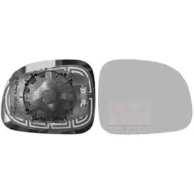 Spiegelglas, Außenspiegel VAN WEZEL Art.No - 1607838 OEM: 71754720 für FIAT kaufen