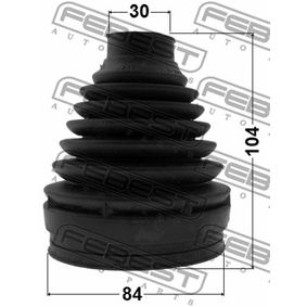 FEBEST Bellow, driveshaft A1693705572 for MERCEDES-BENZ acquire