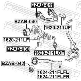 Rótula de suspensión carga 1620-211LF FEBEST