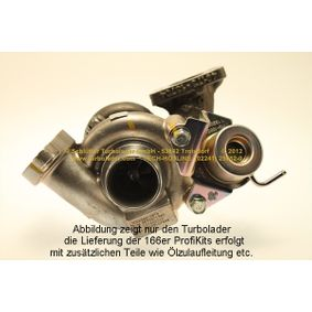 3M5Q6K682DE für FORD, CITROЁN, PEUGEOT, FIAT, Turbocompresor, sobrealimentación SCHLÜTTER TURBOLADER(166-05133) Tienda online