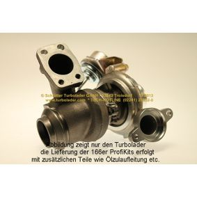 SCHLÜTTER TURBOLADER 166-05133 Turbocompresor, sobrealimentación OEM - 3M5Q6K682DE CITROËN, FIAT, FORD, PEUGEOT, VICTOR REINZ, FA1, WILMINK GROUP a buen precio