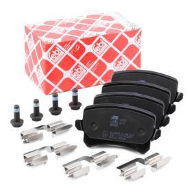 3C0698451F für VW, AUDI, SKODA, SEAT, PORSCHE, Bremsbelagsatz, Scheibenbremse FEBI BILSTEIN (16991) Online-Shop