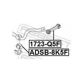 FEBEST Koppelstange 8K0411317D für VW, AUDI, SKODA, SEAT, PORSCHE bestellen