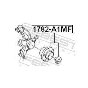 Juego de cojinete de rueda 1782-A1MF FEBEST