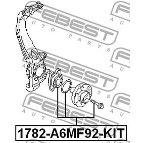 FEBEST Wheel Hub 4F0598625B for VW, AUDI acquire