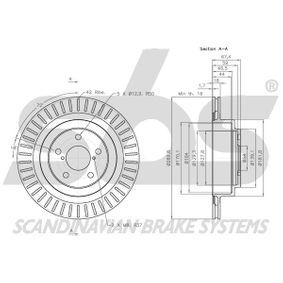 26700AE081 für SUBARU, BEDFORD, Bremsscheibe sbs (1815204414) Online-Shop