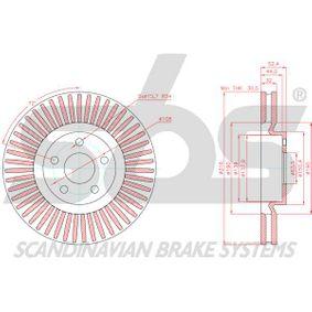 5312312 für FORD, FORD USA, Bremsscheibe sbs (18153125107) Online-Shop