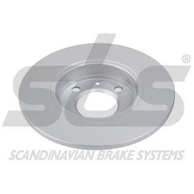 sbs Bremsscheibe 811615301 für VW, AUDI, FIAT, SKODA, SEAT bestellen