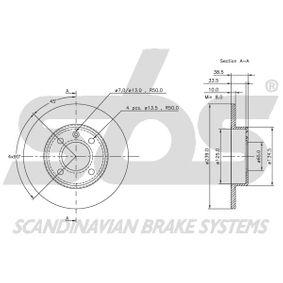 811615301 für VW, AUDI, FIAT, SKODA, SEAT, Bremsscheibe sbs (1815314704) Online-Shop