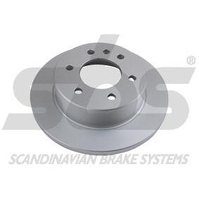 Bremsscheibe sbs Art.No - 18153147122 OEM: 9064230012 für VW, MERCEDES-BENZ, SMART, CHRYSLER, RENAULT TRUCKS kaufen