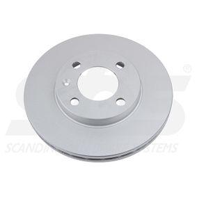 Bremsscheibe sbs Art.No - 1815314724 OEM: 321615301C für VW, AUDI, FORD, SKODA, SEAT kaufen