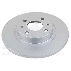 спирачен диск sbs Art.No - 1815319932 OEM: 51859075 за FIAT, ALFA ROMEO, LANCIA, CHRYSLER купете