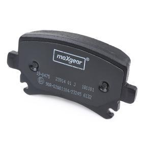 MAXGEAR Bremsbelagsatz, Scheibenbremse (19-0475) niedriger Preis