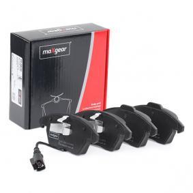 1K0698151E für VW, AUDI, FORD, PEUGEOT, SKODA, Bremsbelagsatz, Scheibenbremse MAXGEAR (19-0638) Online-Shop