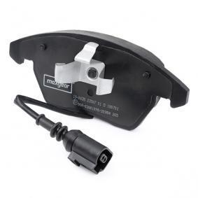 MAXGEAR Kit de plaquettes de frein, frein à disque (19-0638) à bas prix