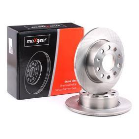 Golf V Хечбек (1K1) MAXGEAR Комплект спирачни дискове 19-0839