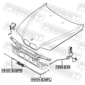 Motorhaube und Einzelteile 1999-E39 FEBEST