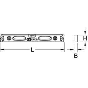 204.7150 Wasserwaage von KS TOOLS Qualitäts Werkzeuge