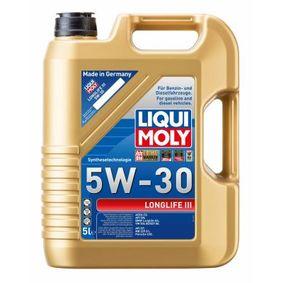 MERCEDES-BENZ Motorolajok a LIQUI MOLY 20647 gyártói minőségű