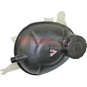 Vase d'expansion, liquide de refroidissement METZGER Art.No - 2140142 OEM: A2055000049 pour MERCEDES-BENZ récuperer