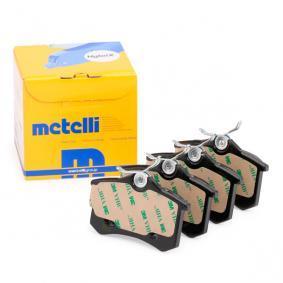 20961 para , Juego de pastillas de freno METELLI (22-0100-0) Tienda online