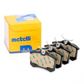 Scénic I (JA0/1_, FA0_) METELLI Pastillas de freno 22-0100-2