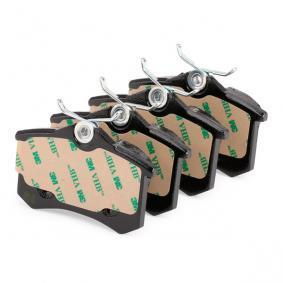 METELLI Pastilla de freno 22-0100-2